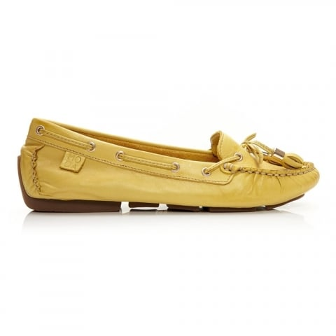 Alivia Yellow Leather