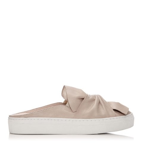 Aneela Light Nude Leather