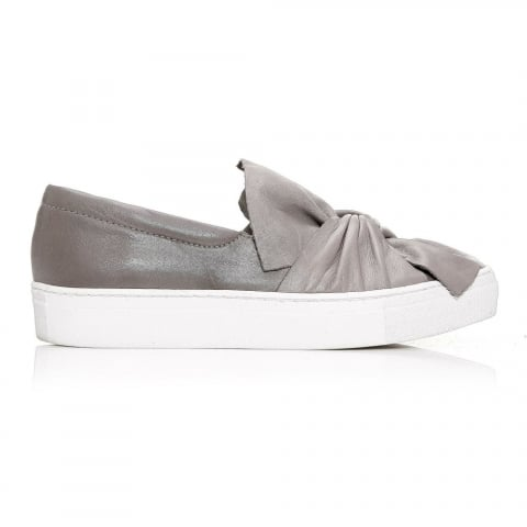 Annie Grey Leather