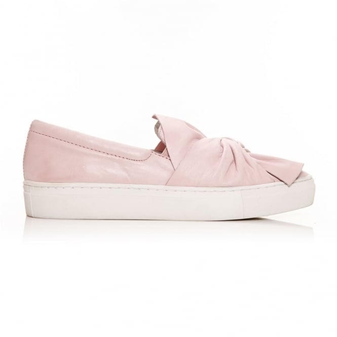 Annie Light Pink Leather