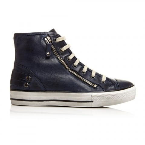 Argentias Navy Leather