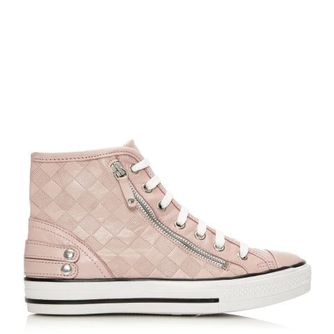 Argentio Light Pink Leather