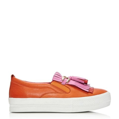 Arlot Orange Leather