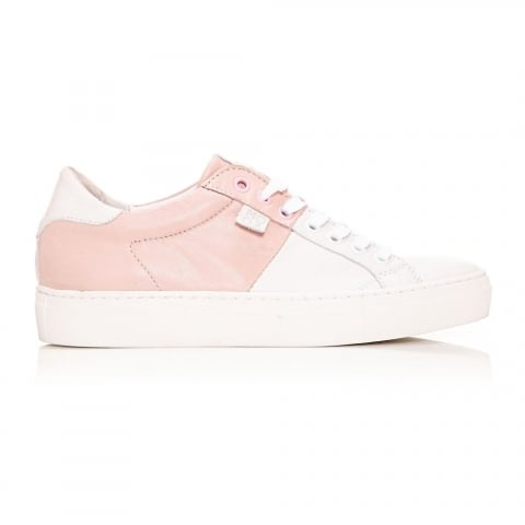 Aryan Light Pink Leather