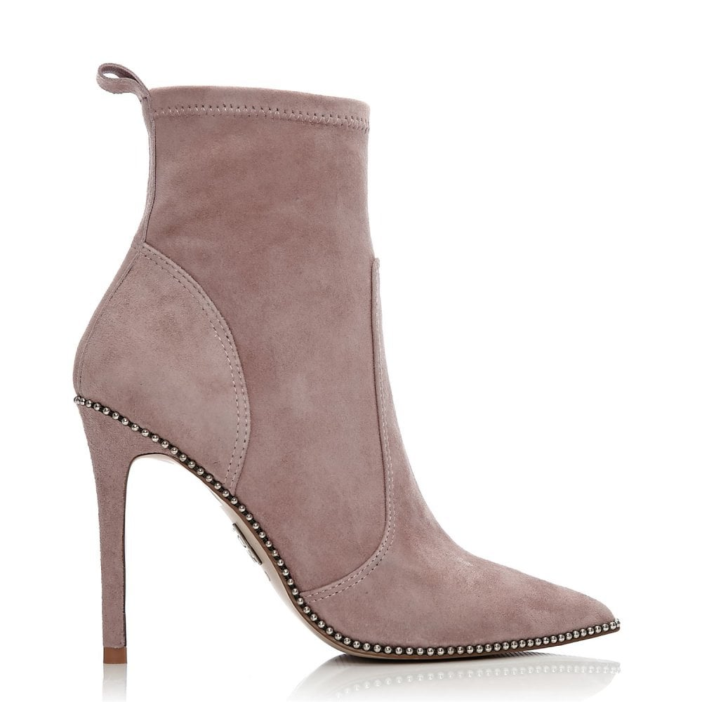 cc2564d86 Belista Taupe Suede - Boots from Moda in Pelle US UK