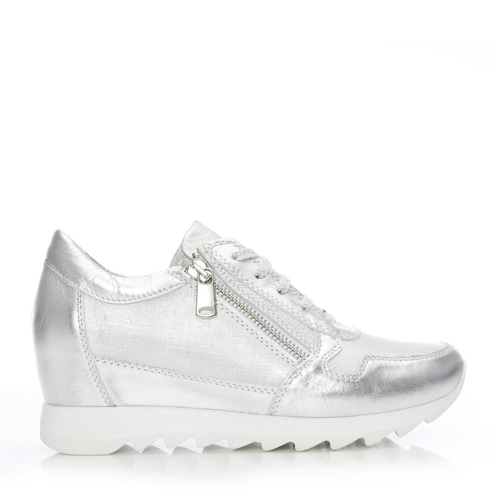 Bethy Silver Metallic Leather - Shoes