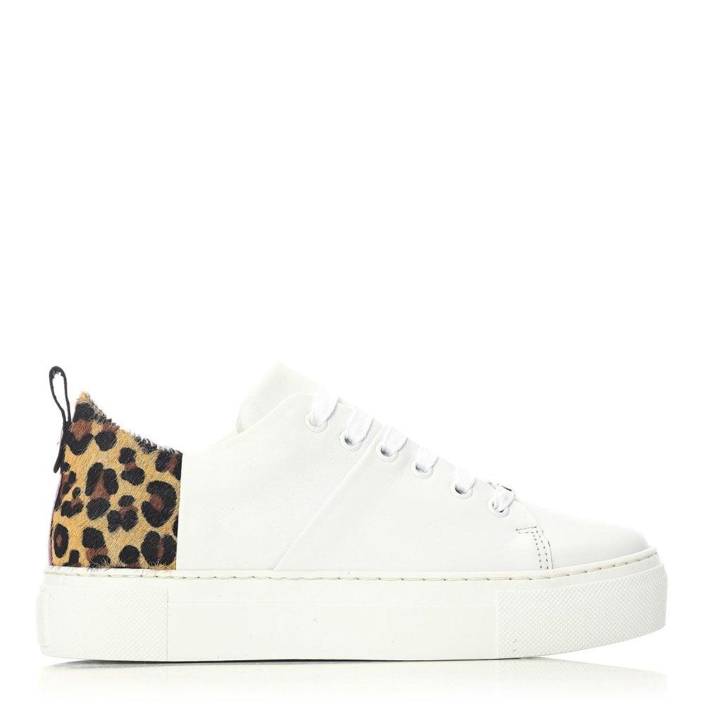 moda in pelle leopard print shoes