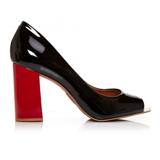 Calandre Black Patent Leather