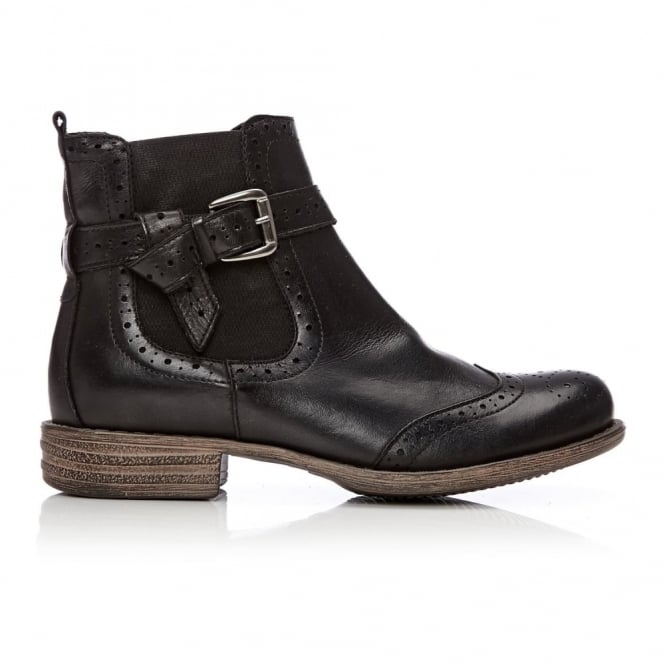 Calisi Black Leather