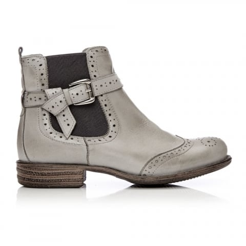 Calisi Light Grey Leather