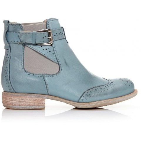 Caliso Light Blue Leather