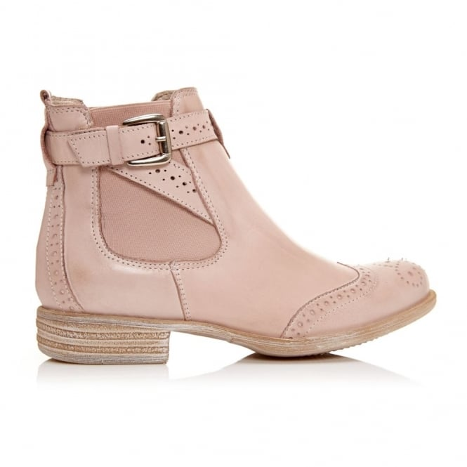 Caliso Light Pink Leather