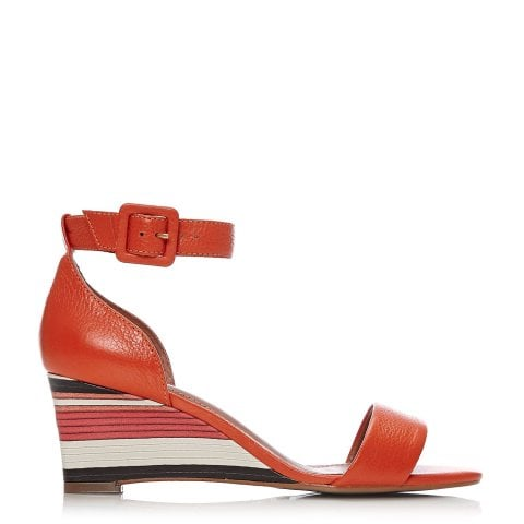 Camali Orange Leather