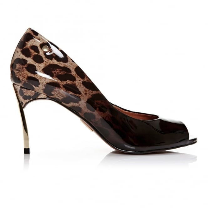 Camdoni Leopard Ombre Leather