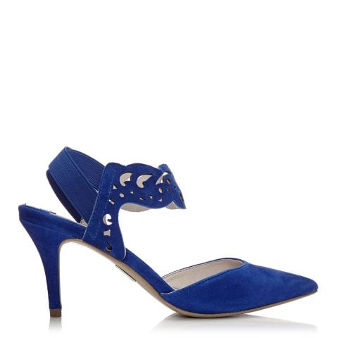 Carmani Cobalt Blue Suede