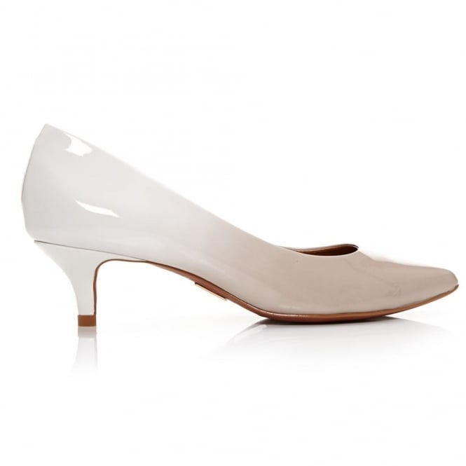Catarine Light Nude Ombre Leather