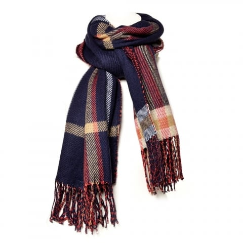 Cindyscarf Navy Fabric