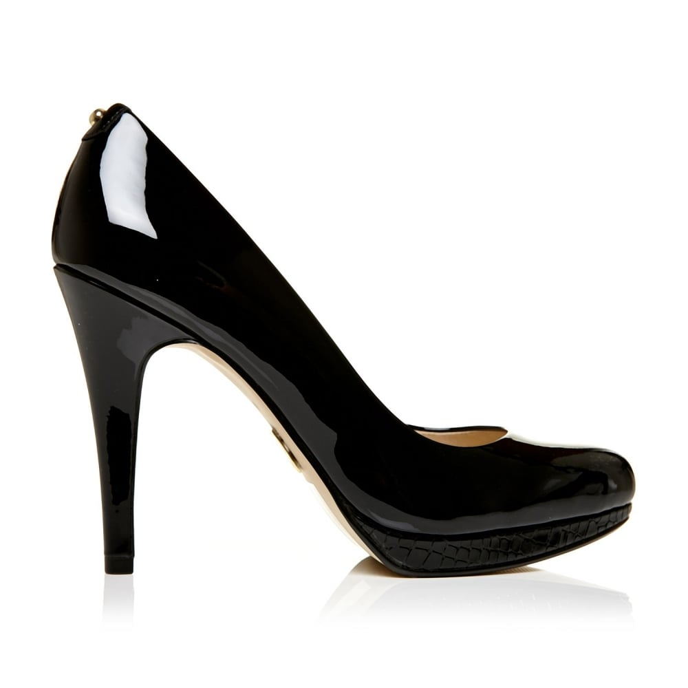 c4b51f1032ae Civello Black Patent Pu - Sale from Moda in Pelle UK