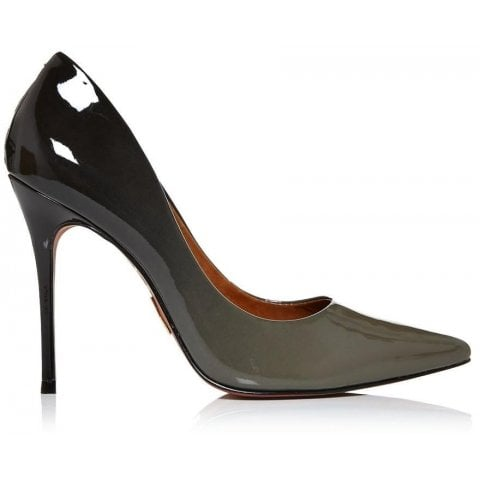 Cristina Grey Patent Leather