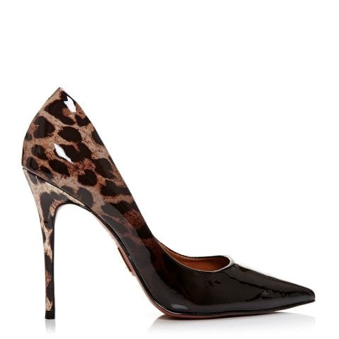 Cristina Leopard Leather