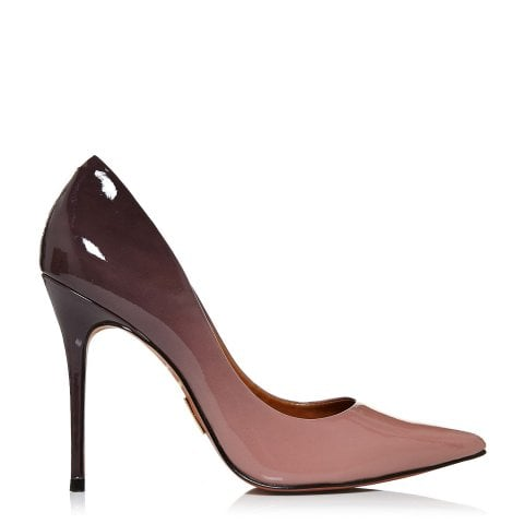 Cristina Nude Patent Leather