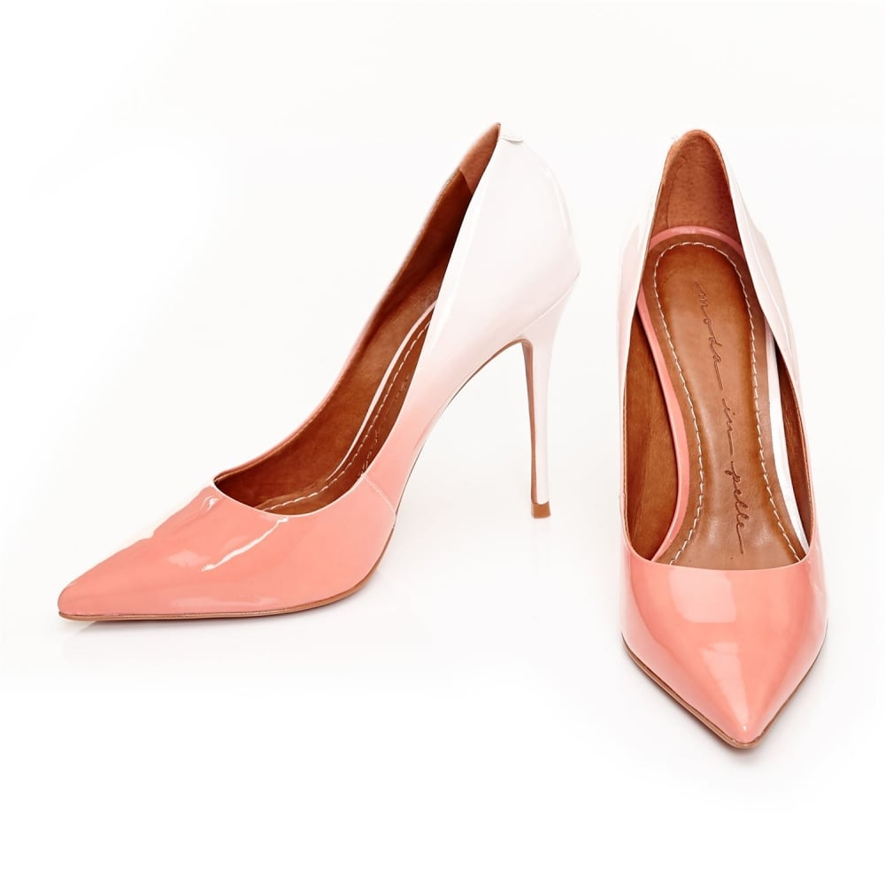 d80a1238b647 Cristina Peach Patent Leather - Sale from Moda in Pelle US UK