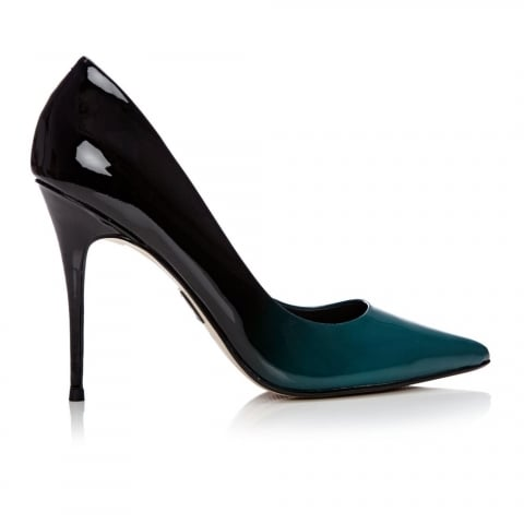 Cristini Teal Ombre Leather