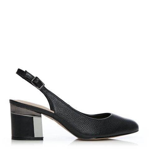 Dainelle Black Leather