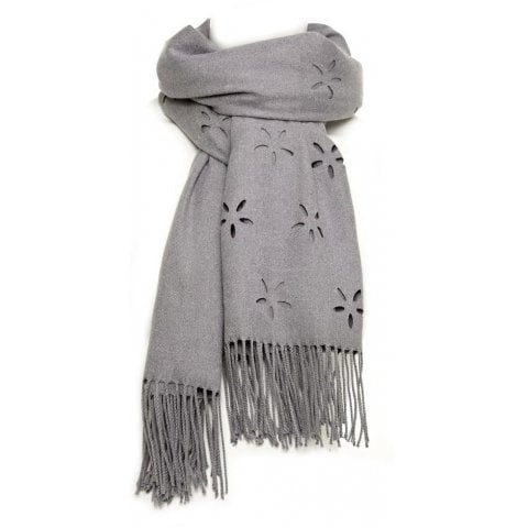 Daisyscarf Grey Fabric