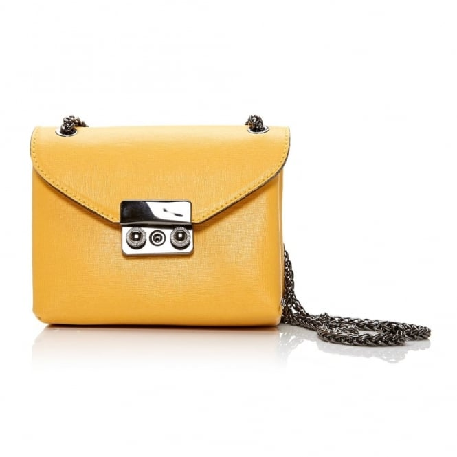 Darcibag Yellow Leather