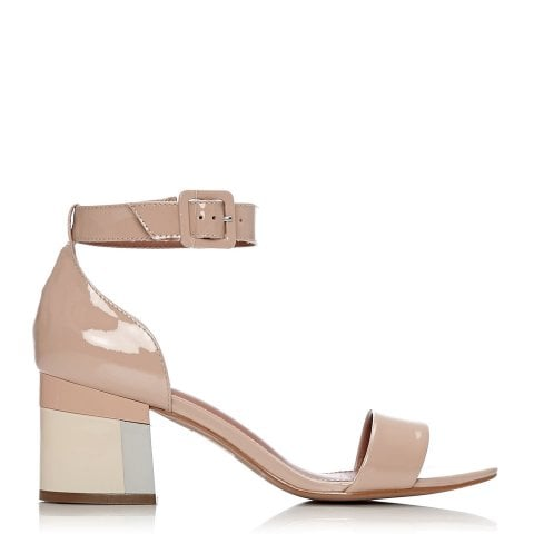 Delela Nude Patent Leather