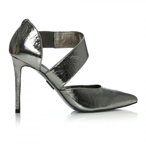 Diane Pewter Leather