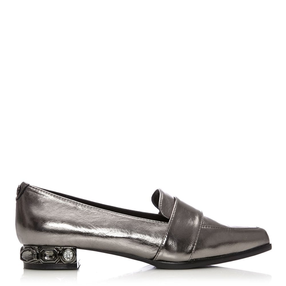 6299e579c6c Elasti Pewter Metallic Leather - Shoes from Moda in Pelle UK