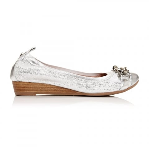 Eleena Silver Leather