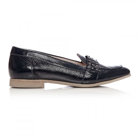 Emesto Navy Patent Leather