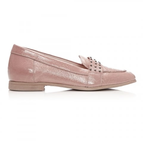 Emesto Nude Patent Leather