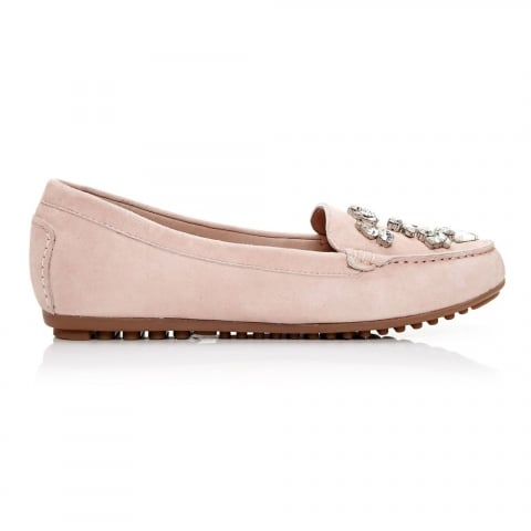 Emili Light Pink Suede