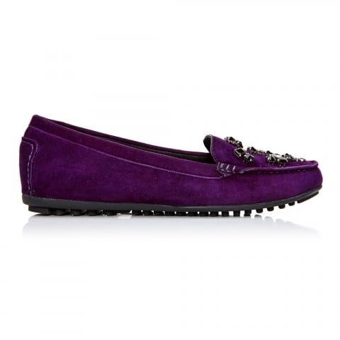 Emili Purple Suede