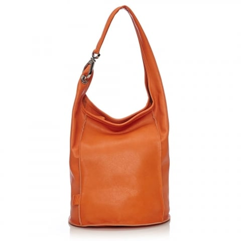 Evelinabag Orange Leather
