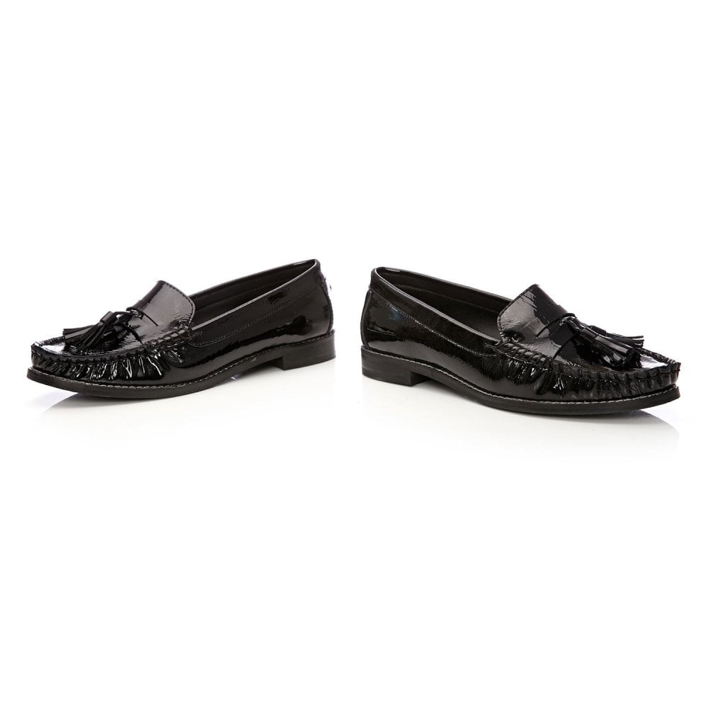 5c74203fad7 Falconi Black Patent Leather - Shoes from Moda in Pelle UK