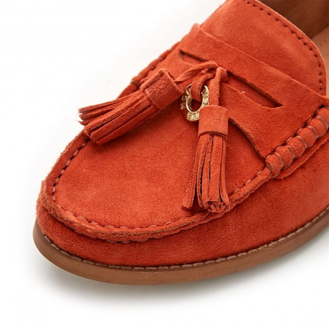 8cf8d3f7679 Falconi Orange Suede - Shoes from Moda in Pelle UK