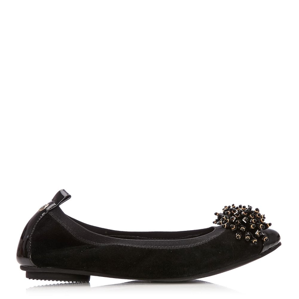 0280d30f386 Falver Black Suede - Shoes from Moda in Pelle UK