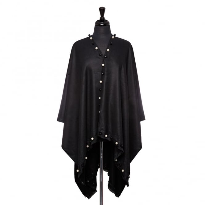 Felishponcho Black Fabric