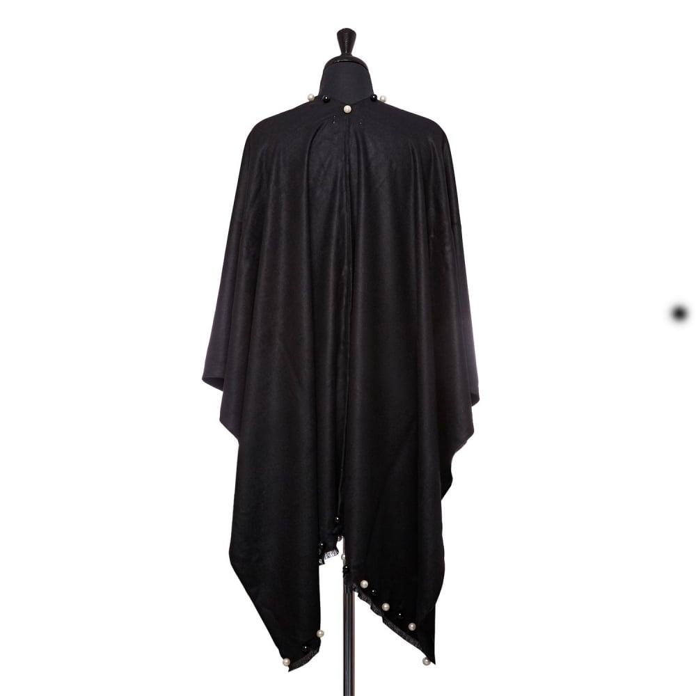 Felishponcho Black Fabric