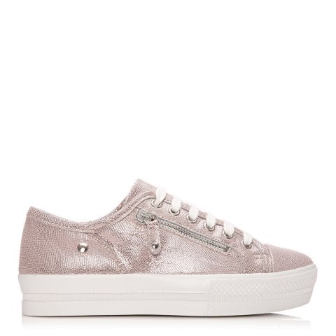 Fianno Rose Gold Leather