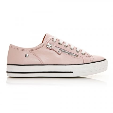 Fianntas Light Pink Leather