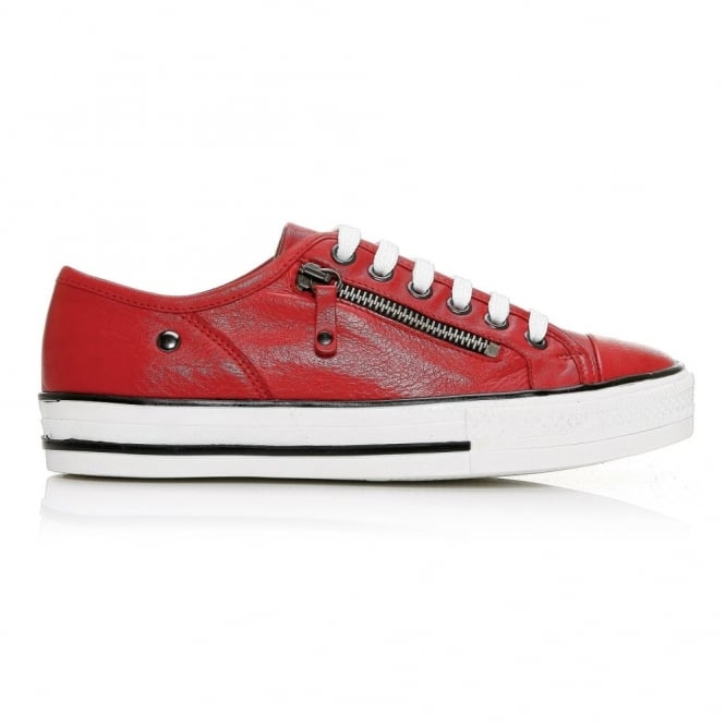 Fianntas Red Leather