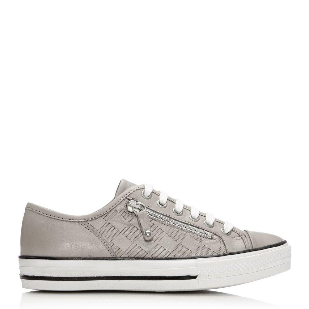 Fiarli Light Grey Leather. Moda In Pelle ...