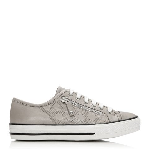 Fiarli Light Grey Leather