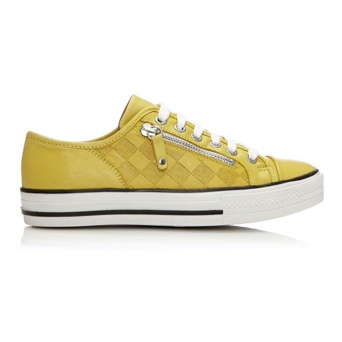 Fiarli Yellow Leather